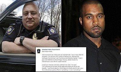 Letter To Kanye West After He Compared Himself To a Police Officer/Soldier