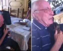 This Grandson Just Gave His Grandpa The GREATEST Possible Gift