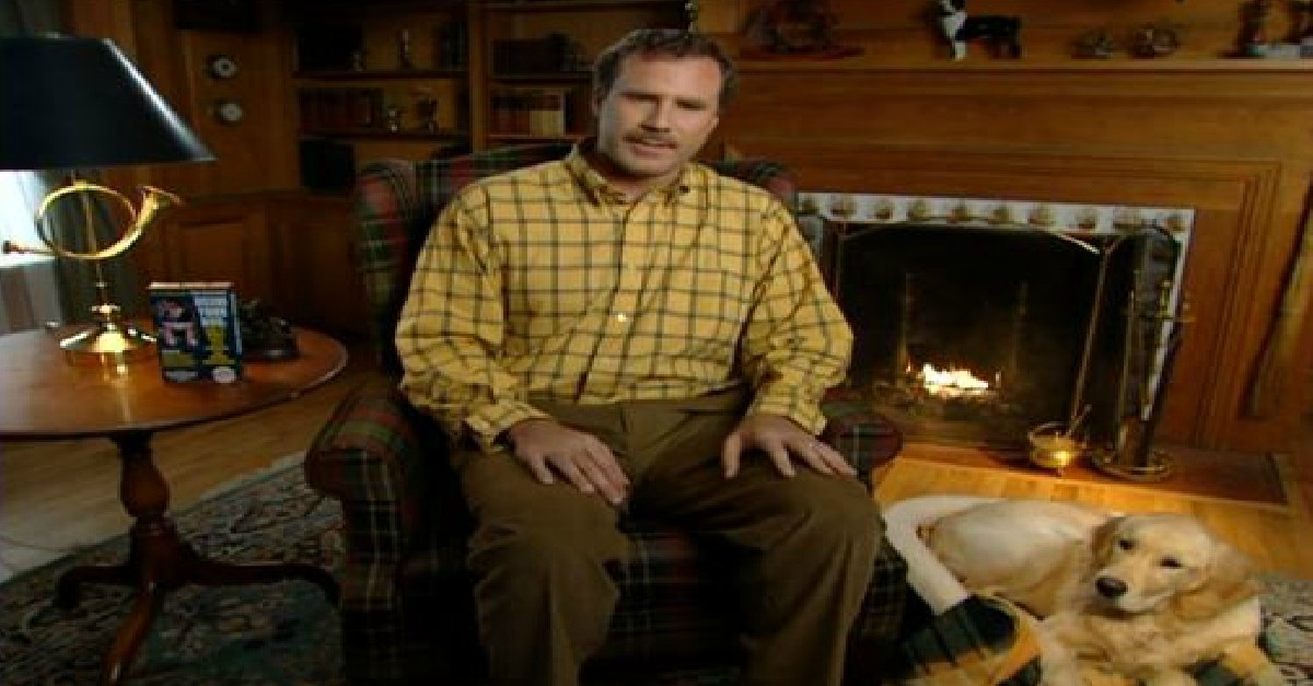 """Wil Ferrell's Saturday Night Live TV Commercial """"Dissing Your Dog"""" Is HILARIOUS!"""