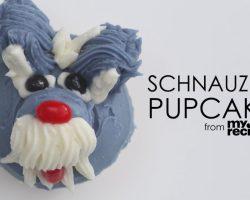 [Recipe] How To Make Adorable Schnauzer Cupcakes