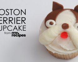 [Recipe] How To Make Adorable Boston Terrier Cupcakes