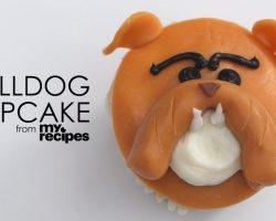 [Recipe] How To Make Adorable Bulldog Cupcakes