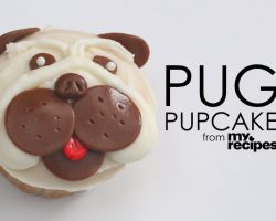 [Recipe] How To Make Adorable Pug Cupcakes