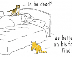 Artist imagines 'if animals could talk,' creates hysterical comics showing what it might be like