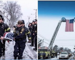 Senior K-9 Dies In Handler's Arms, Gets The Hero's Goodbye She Deserves
