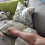 Husky Demands Nonstop Belly Rubs From Her Owner In The Most Hilarious Way