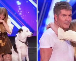 Judges Make Young Girl Break Down In Tears, Simon Makes Move No One's Ever Seen Before
