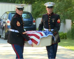 Military Refuses Funeral For Fallen Combat K9 So Family Gathers Entire Town For Proper Burial