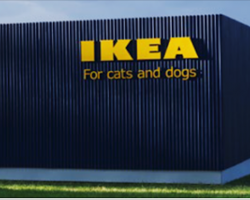 IKEA Just Launched A Pet Furniture Collection, And Animal Lovers Want It All