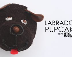 [Recipe] How To Make Adorable Labrador Cupcakes