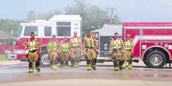 Greenville Firefighters Accept Lip Synch Challenge
