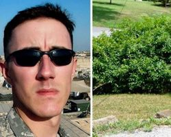 Veteran decides to commit suicide and goes for last smoke, then hears rustling in bushes