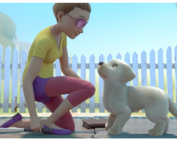 Short Animated Film About Puppy Trying To Be A Guide Dog Has Ending That Can't Be Missed