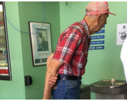 What This Elderly Man Donates To Animal Shelter Has People Crying