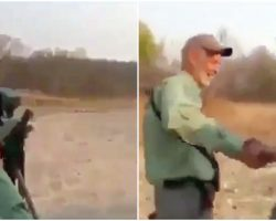 Cruel Hunter Shoots Sleeping Lion – Celebrates As Lion Slowly Dies In Misery