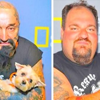 Tattooed Biker Gang Takes Down Dog Fighting Rings, Save Hundreds Of Helpless Dogs