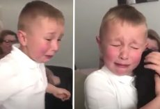 Bullied Little Boy Gets Puppy Surprise After School