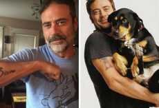 Hollywood Actor Shows Off His Tattoo, Says It's Dedicated To The Puppy He Saved