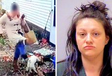 Vindictive Woman Kicks & Thrashes Friend's Dog To Get Revenge, Assaults Owner Too