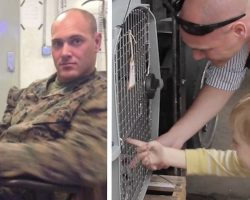 Marine Found A Puppy On Duty, And He Promised He Wouldn't Leave Him Behind