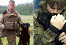 Dog Tries To Shield Soldier's Bullet-Ridden Body, Helps Him Pass Away In Peace
