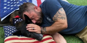 Navy SEAL Says Goodbye To Longtime K9 Partner And Friend