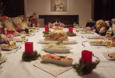 Adorable Thanksgiving Feast Goes To The Dogs, Literally!