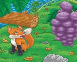 Fox And The Grapes – Aesop
